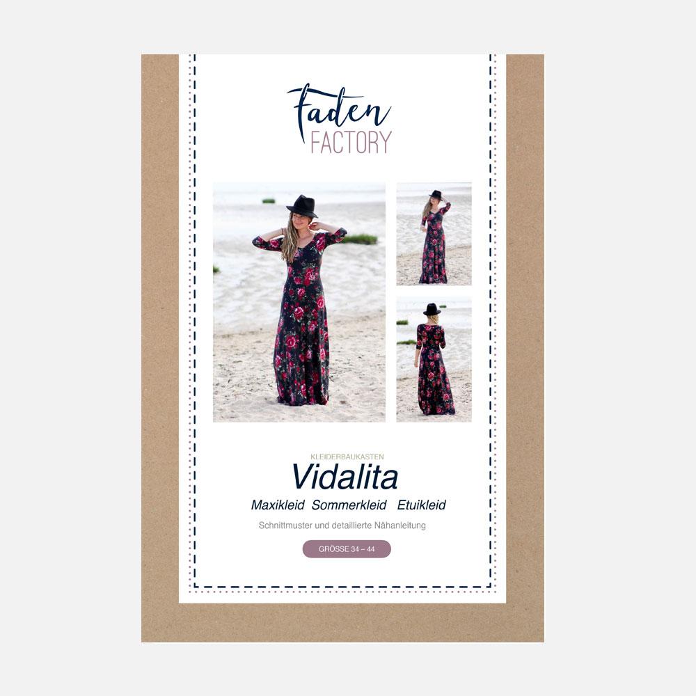 schnittmuster maxikleid/abendkleid vidalita ebook